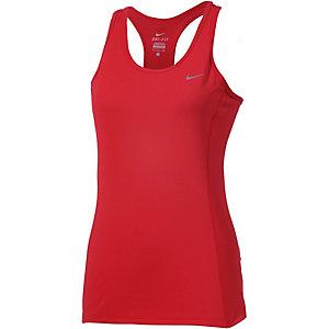 Nike Dri-Fit Contour Funktionstank Damen rot