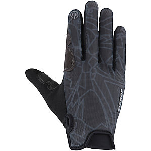 Ziener Cavid Touch Long Fahrradhandschuhe schwarz