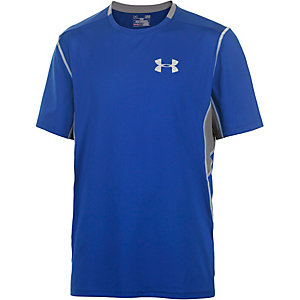 Under Armour Coolswitch Laufshirt Herren blau/grau