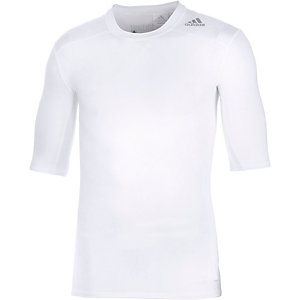 adidas Tech Fit Base Funktionsshirt Herren weiß