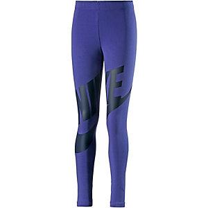 Nike LEG A SEE FUTURA GFX Tights Mädchen navy/schwarz