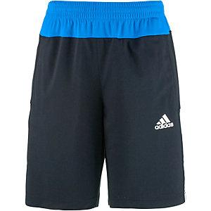 adidas Funktionsshorts Jungen schwarz/blau