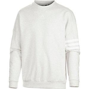 adidas Lin Sweatshirt Herren weiß melange
