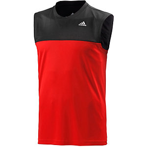 adidas Base Mid Funktionstop Herren rot/schwarz