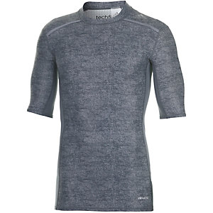 adidas Tech Fit Chill Funktionsshirt Herren grau