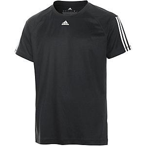 adidas Base 3S Funktionsshirt Herren schwarz