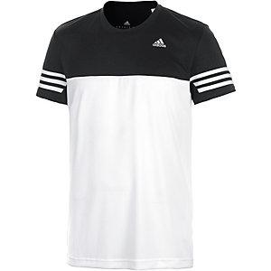adidas Base Mid Funktionsshirt Herren weiß/schwarz