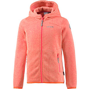 ICEPEAK Siiri Jr Strickfleece Mädchen koralle/orange