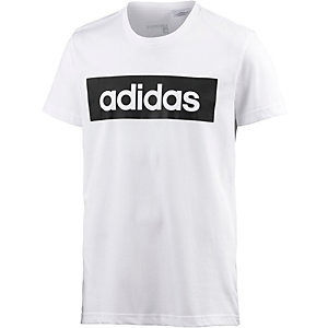 adidas Lin Printshirt Herren weiß