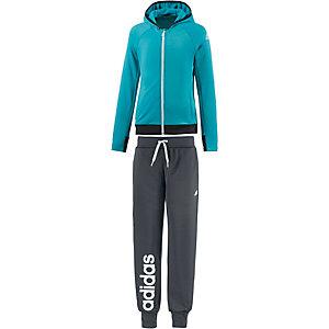 adidas Trainingsanzug Mädchen grün/grau