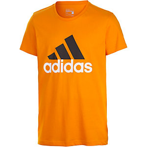 adidas Logo Funktionsshirt Herren orange