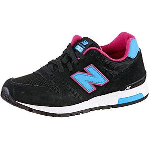 NEW BALANCE WL 565 Core+ Sneaker Damen schwarz