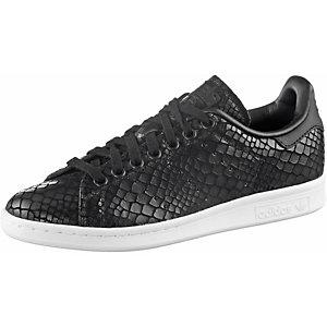 adidas Stan Smith W Sneaker Damen schwarz snake