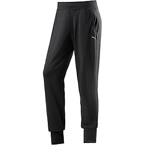 PUMA Trainingshose Damen schwarz