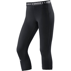 Under Armour Heatgear Tights Damen schwarz