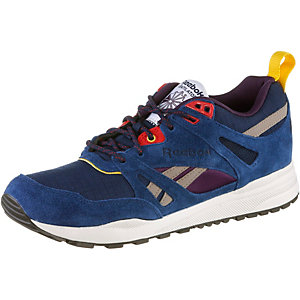 Reebok Ventilator Sneaker Damen blau/schwarz/dunkelrot