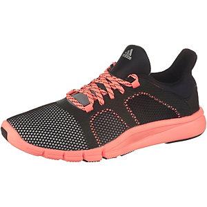 adidas Adipure Flex Fitnessschuhe Damen schwarz/apricot