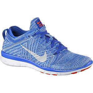 Nike Free Trainer Flyknit Fitnessschuhe Damen hellblau/blau