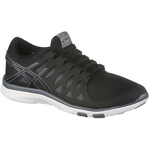 asics gel fit tempo 2 fitnessschuhe damen schwarz. Black Bedroom Furniture Sets. Home Design Ideas