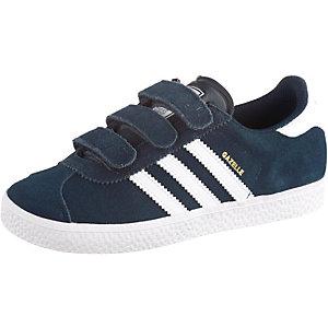adidas Gazelle 2 CF C Sneaker Kinder navy/weiß