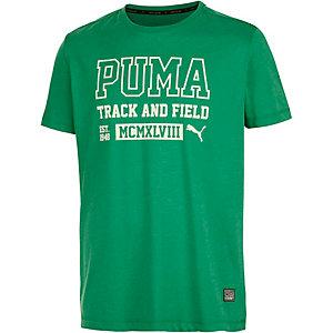 PUMA Style Athletics Funktionsshirt Herren grün