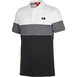 Nike Poloshirt Herren schwarz/weiß