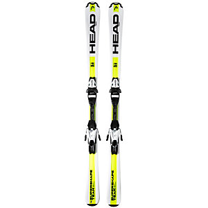 HEAD Supershape Team LR 15/16 +7,5 All-Mountain Ski Kinder weiß/gelb