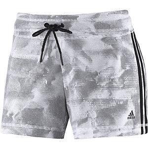 adidas Funktionsshorts Damen weiß/schwarz