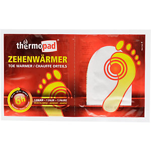 Thermo Pad Zehenwärmer Wärmepad Orange