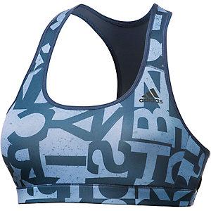 adidas Sport-BH Damen dunkelblau/hellblau