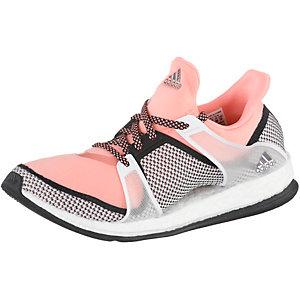 adidas Pure Boost X TR W Fitnessschuhe Damen apricot/schwarz