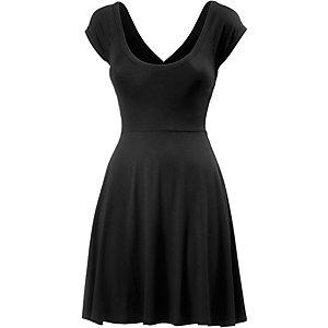 Maui Wowie Kurzarmkleid Damen schwarz