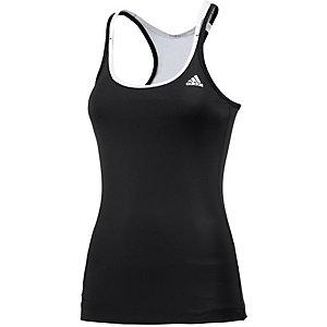 adidas Funktionstank Damen schwarz/weiß