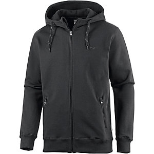 Cleptomanicx Heavy Zipper Sweatjacke Herren schwarz