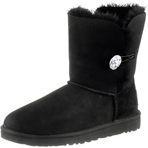 Ugg Australia Bailey Button Bling Bootie Damen schwarz