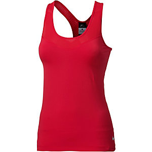 Nike Pro Funktionstank Damen rot