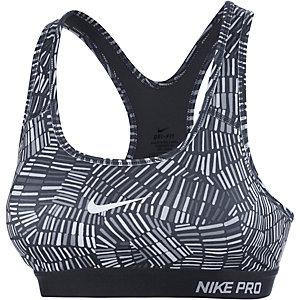 Nike Pro Classic Padded Sport-BH Damen anthrazit/grau