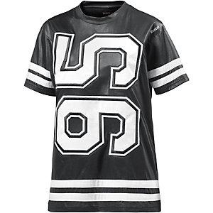Reebok Longshirt Damen schwarz/weiß