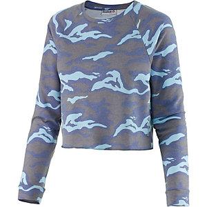 Reebok Sweatshirt Damen hellblau/blau
