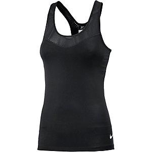 Nike Pro Funktionstank Damen schwarz