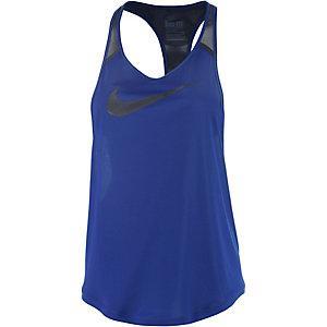Nike Funktionstank Damen royal/schwarz