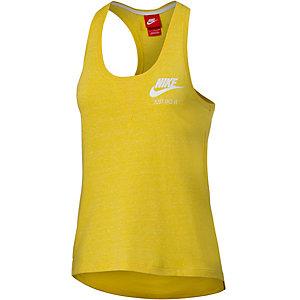 Nike Gym Vintage Tanktop Damen gelb