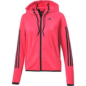 adidas Funktionsjacke Damen pink/schwarz