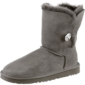 Ugg Australia Bailey Button Bling Bootie Damen grau