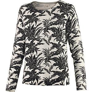 Element Kashmir Sweatshirt Damen offwhite/schwarz