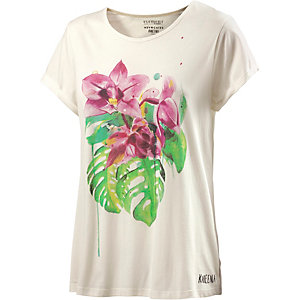 Element Tropical Floral Printshirt Damen offwhite