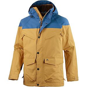 Burton Frontier Snowboardjacke Herren beige/blau
