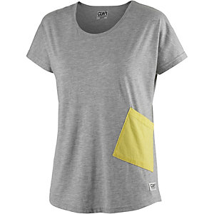 Colour Wear Holk T-Shirt Damen graumelange