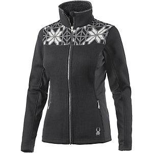 Spyder Criss Skijacke Damen schwarz/weiß