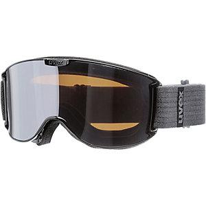 Uvex skyper LM Skibrille black/litemirror silver
